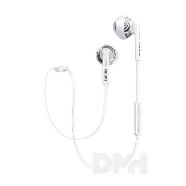 Philips SHB5250WT/00 Bluetooth fehér fülhallgató