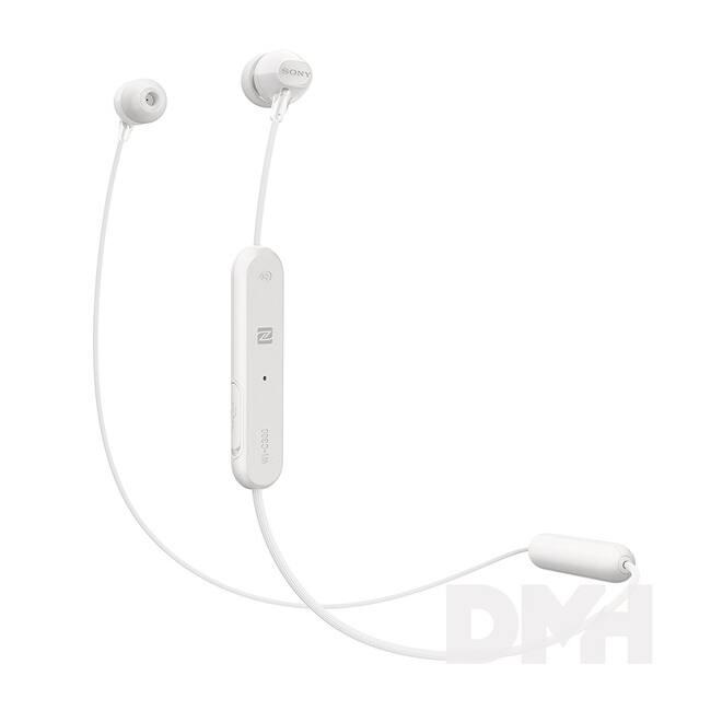 Sony WIC300W Bluetooth fehér fülhallgató headset