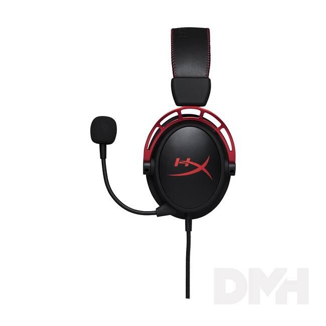 Kingston HyperX Cloud Alpha Fekete-Vörös 3,5 Jack gamer headset