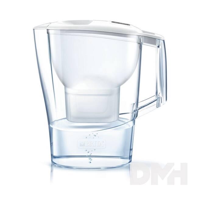 Brita Aluna Cool 2.4 literes Maxtra fehér vízszűrő kancsó
