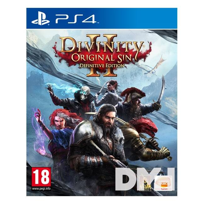 DIVINITY: ORIGINAL SIN 2 - Definitive Edition PS4 játékszoftver