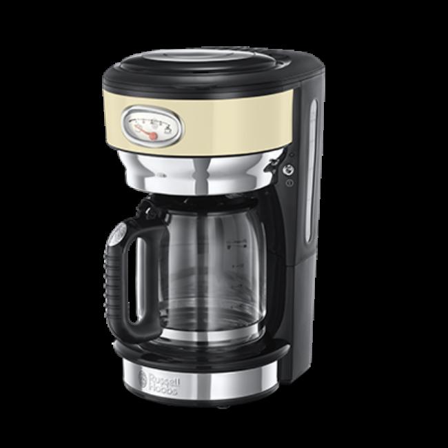 Coffee machine Russell Hobbs 21702-56 Retro   black-cream