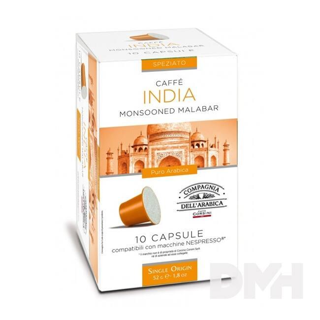Compagnia Dell Arabica DAR066 India Single Origin Nespresso kompatibilis kapszula