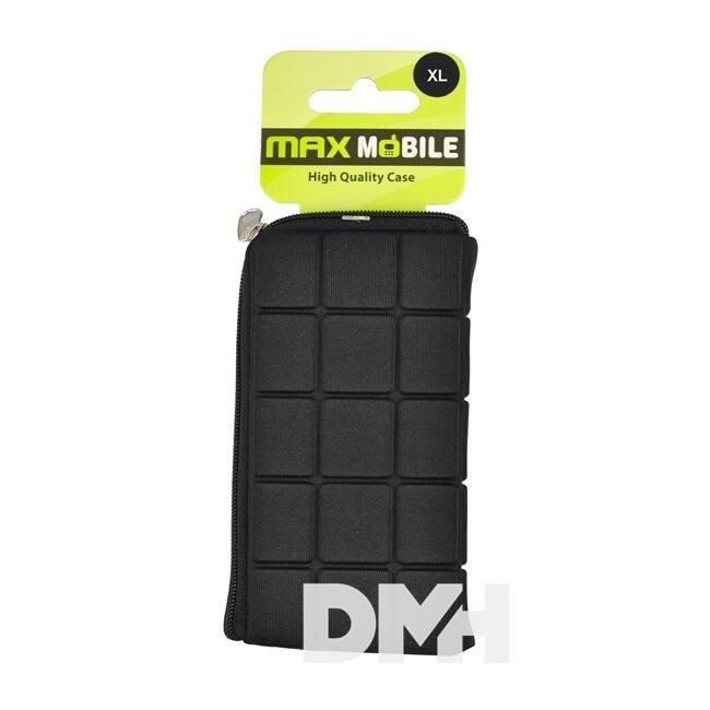Max Mobile iCROC Galaxy S3 fekete XXL tok