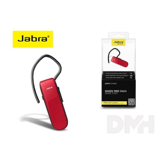 Jabra JB-067 Classic piros Bluetooth headset
