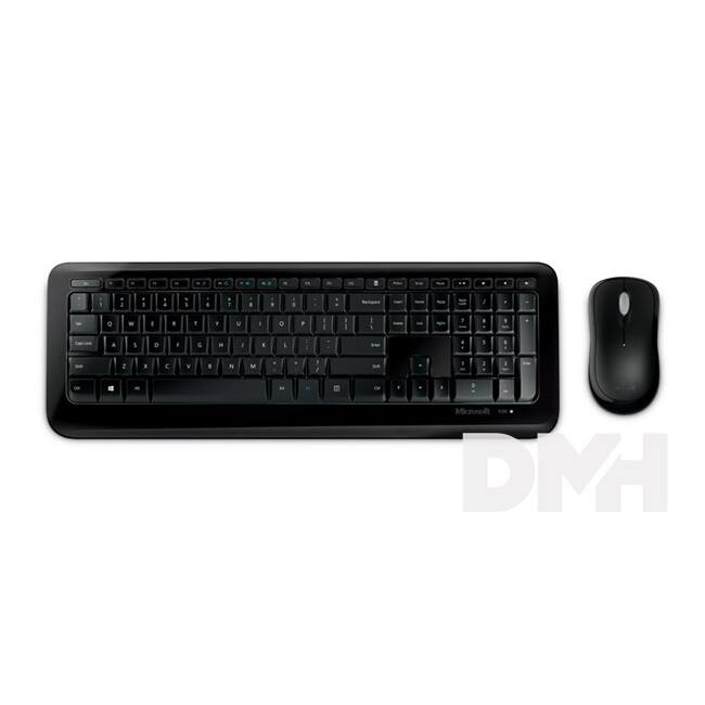 Microsoft Wireless Desktop 850 wless Dobozos HUN Egér kombó fekete billentyűzet