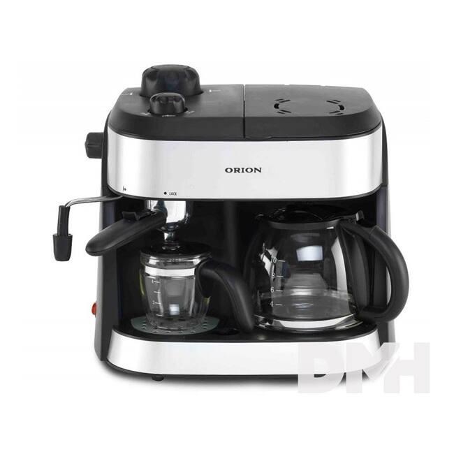 Orion OCCM-4616 fekete-ezüst kávé és teafőző