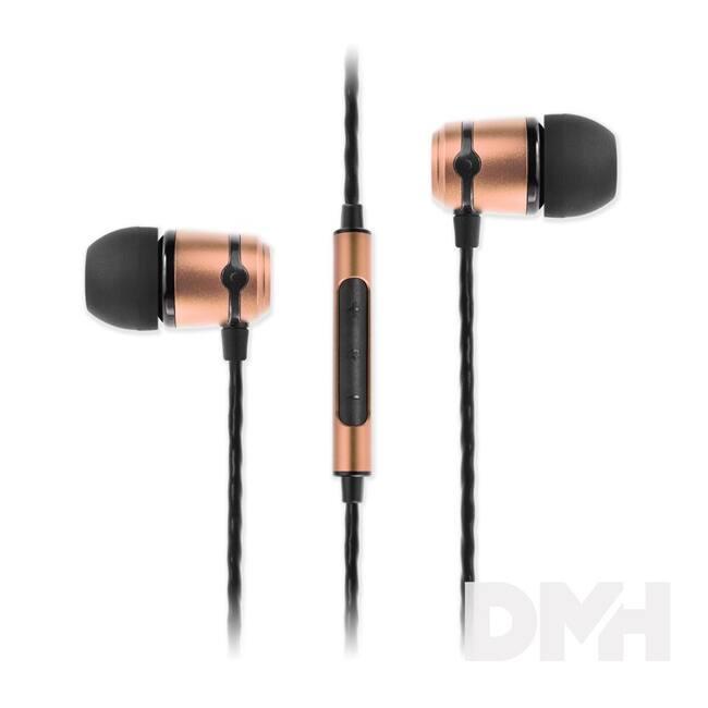 SoundMAGIC E50C In-Ear arany fülhallgató headset