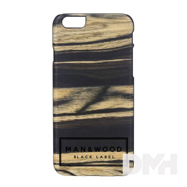 Man and Wood B1710B Label iPhone 6/6S illatosított fa tok