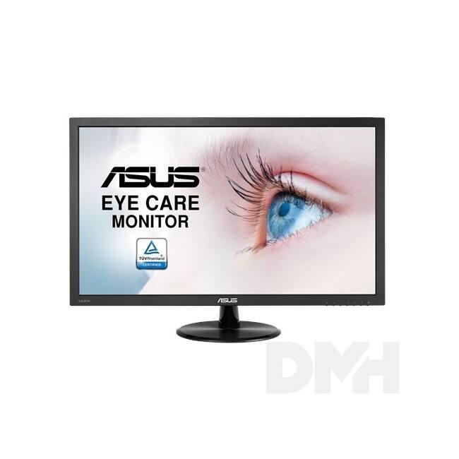 "Asus 24"" VP247HA LED DVI HDMI káva nélküli multimédia monitor"