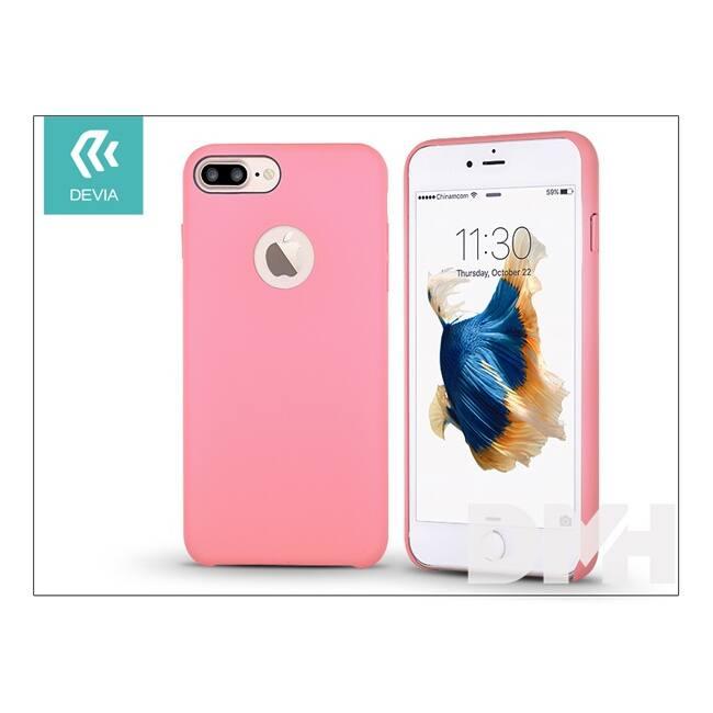 Devia ST992873 CEO iPhone 7+ rózsaszín hátlap