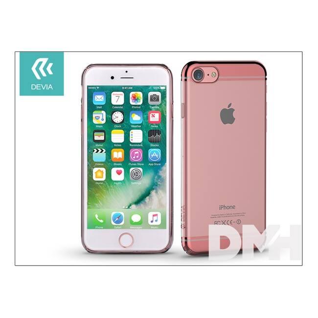 Devia ST993139 GLIMMER2 iPhone 7 rózsaarany hátlap