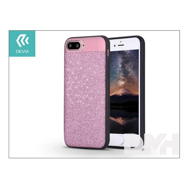 Devia ST000041 RACY iPhone 7+ rózsaarany hátlap