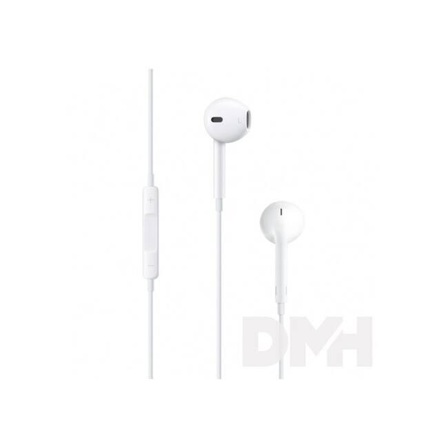 Apple Earpods fülhallgató távvezérlővel és mikrofonnal (3,5mm jack csatlakozó)