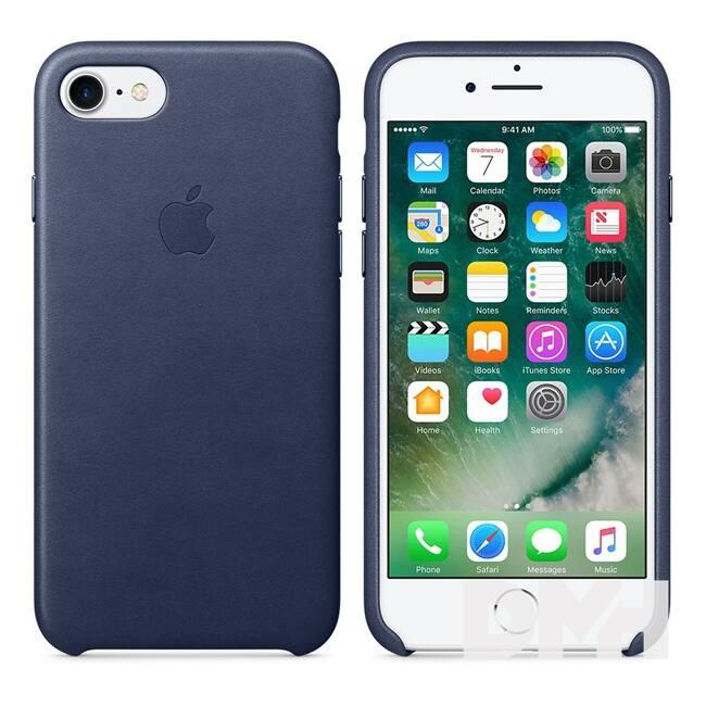 Apple MMY32FE/A iPhone 7 éjkék bőr tok