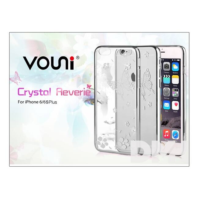 Vouni ST977115 Crystal Reverie iPhone 6+/6S+ ezüst hátlap