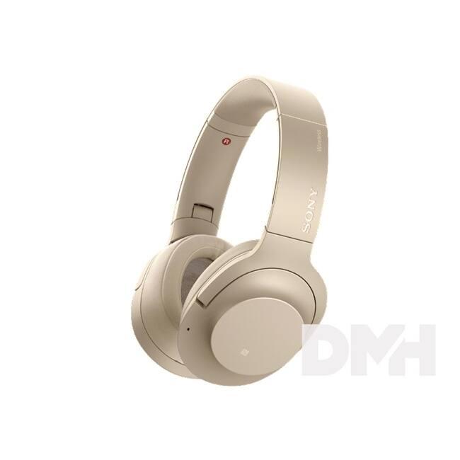 Sony WHH900 Hi-Res Bluetooth arany fejhallgató headset aptX