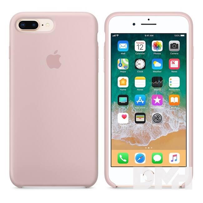 Apple iPhone 7/8 Plus szilikontok rózsakvarc