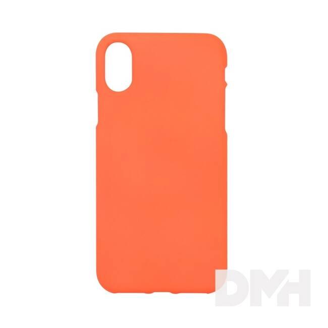 Cellect CEL-NEON-IPHX-O Neon Collection Prémium iPhone X narancs hátlap