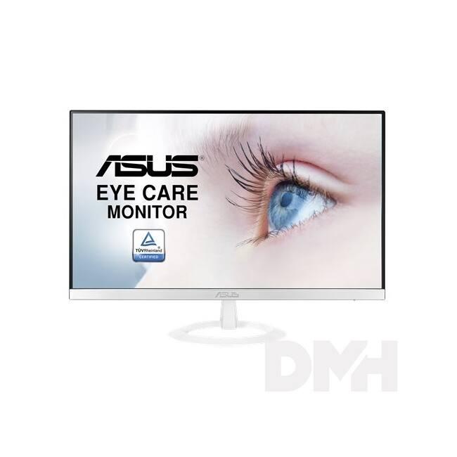 "Asus 23"" VZ239HE-W IPS LED HDMI ultravékony fehér monitor"