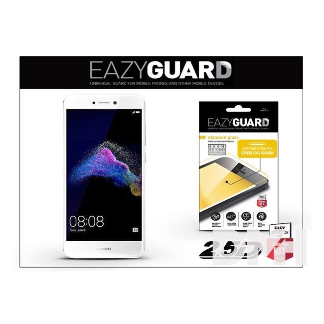 EazyGuard LA-1226 Huawei P9 Lite 2017 fehér 2.5D üveg kijelzővédő fólia