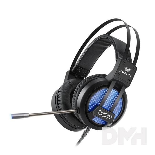 Aula Razorback 7.1 Bass gamer USB headset