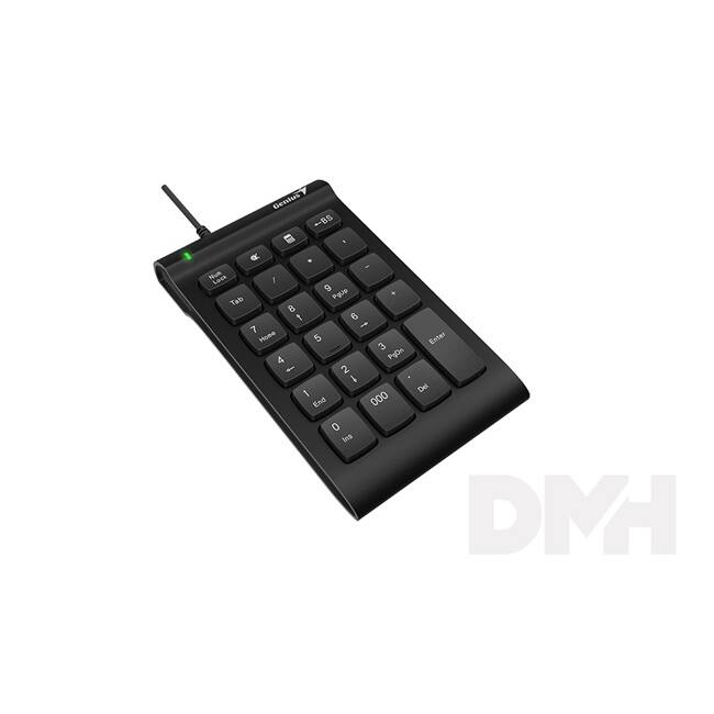 Genius Numpad i130 USB fekete HUN numerikus billentyűzet