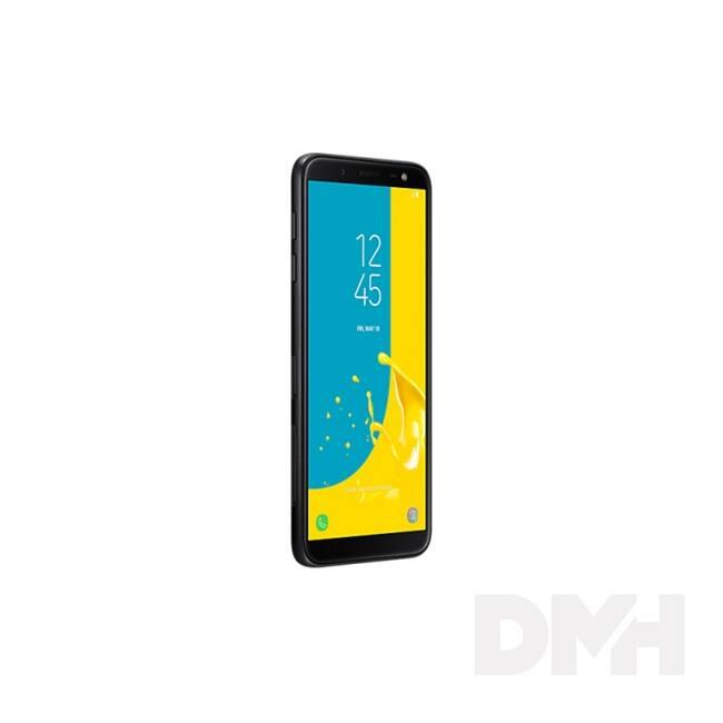 "Samsung Galaxy J6 SM-J600 5.6"" LTE 32GB Dual SIM fekete okostelefon"