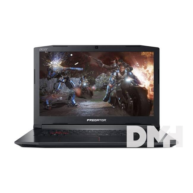 "Acer Predator Helios 300 PH317-52-77D8 17,3"" FHD IPS/Intel Core i7-8750H/8GB/1TB/GTX 1050Ti 4GB/fekete laptop"