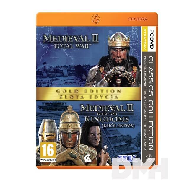 Total War: Medieval II Gold Edition Classic Collection PC játékszoftver