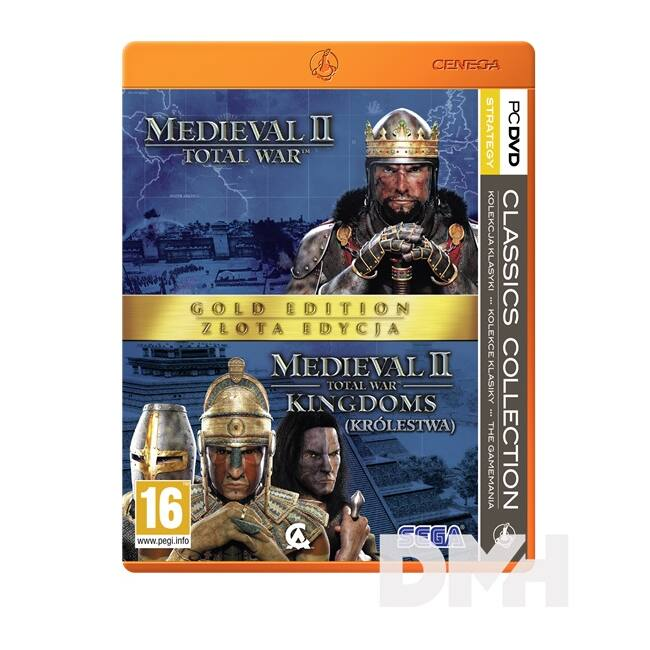 Total War: Medieval II Gold Edition Classic Collection PC játékszoftver