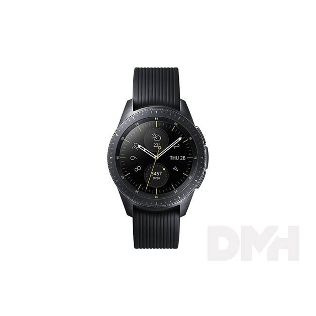 Samsung SM-R810NZKAXEH Galaxy Watch (42 mm) fekete okosóra