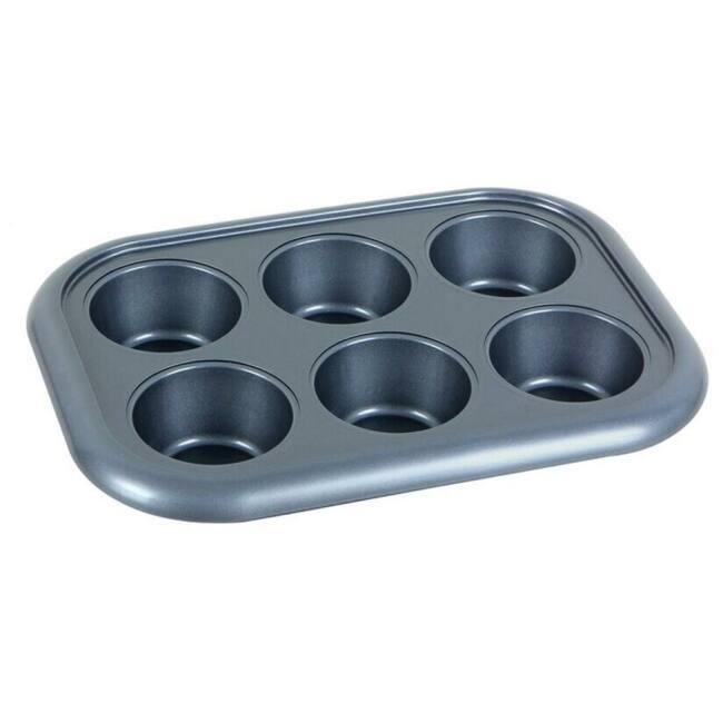 Non-stick bakeware 6 cup pan Zanussi Taranto ZAC33211BF | 29,4 x 21 x 3,5cm