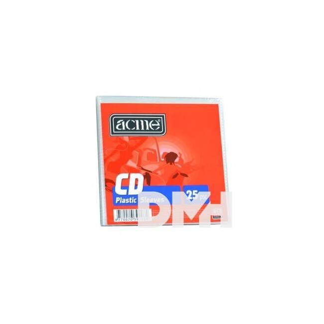Acme CD papírtok ablakos 25db/csomag