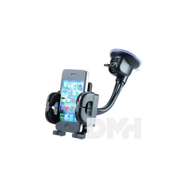 Max Mobile FLEX2 fekete autós telefon/PDA/GPS tartó