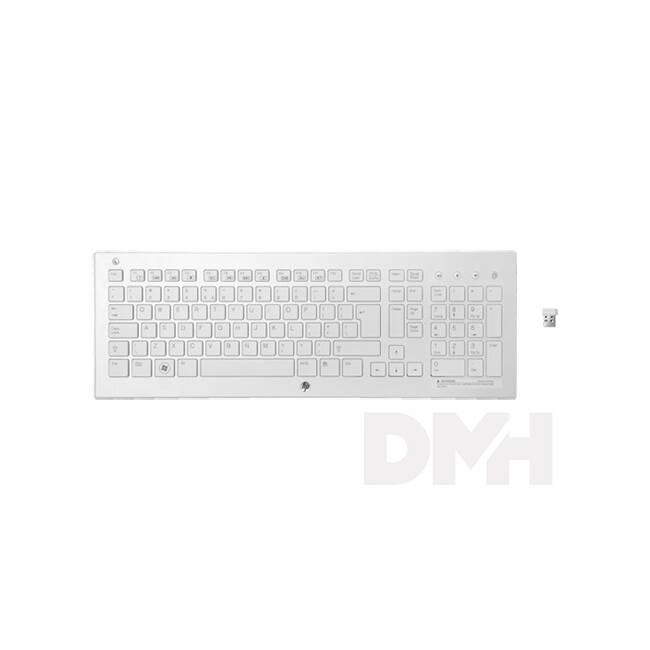 HP Wireless K5510 fehér billentyűzet