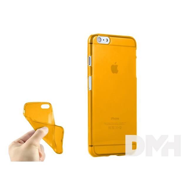 iTotal CM2722 0,33 mm slim tok iPhone 6,6S modellekhez narancs