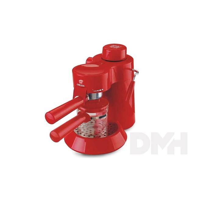 Orion OCM2017R piros presszó kávéfőző