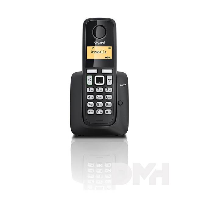 Gigaset A220 fekete dect telefon