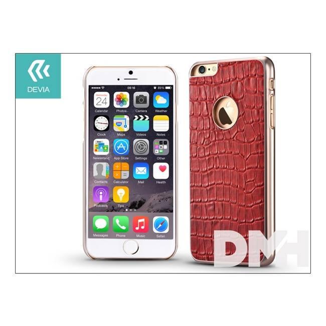 Devia ST967789 Gallery iPhone 6/6S Passion piros hátlap