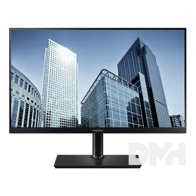 """Samsung 26,9"""" S27H850QFU LED PLS WQHD HDMI Display port fekete monitor"""