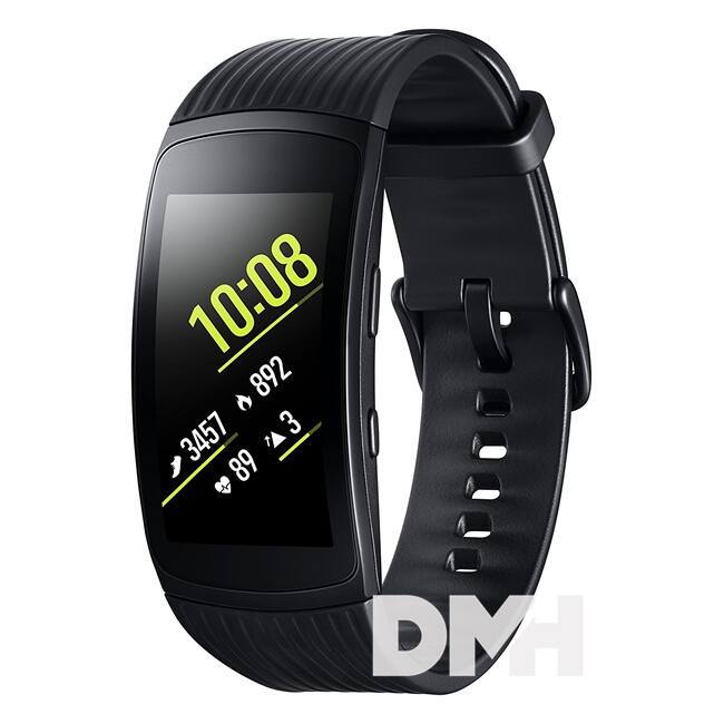 Samsung SM-R365 Gear Fit 2 Pro fekete bluetooth nagy okosóra