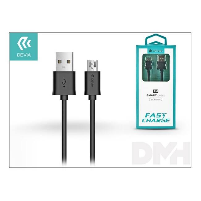 Devia ST301155 Smart fekete Micro USB kábel