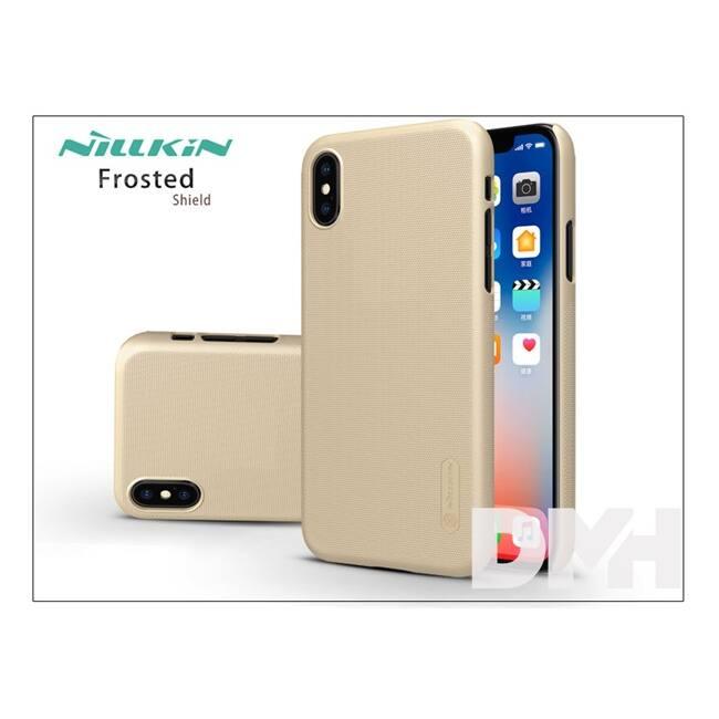 Nillkin NL146280 Frosted iPhone X arany hátlap