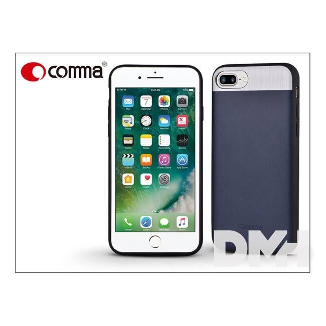 Comma ST985066 VIVID LEATHER iPhone 7/8+ kék hátlap