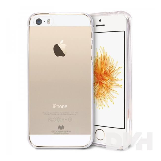 Mercury CJIP5 Jelly iPhone 5/SE átlátszó TPU hátlap