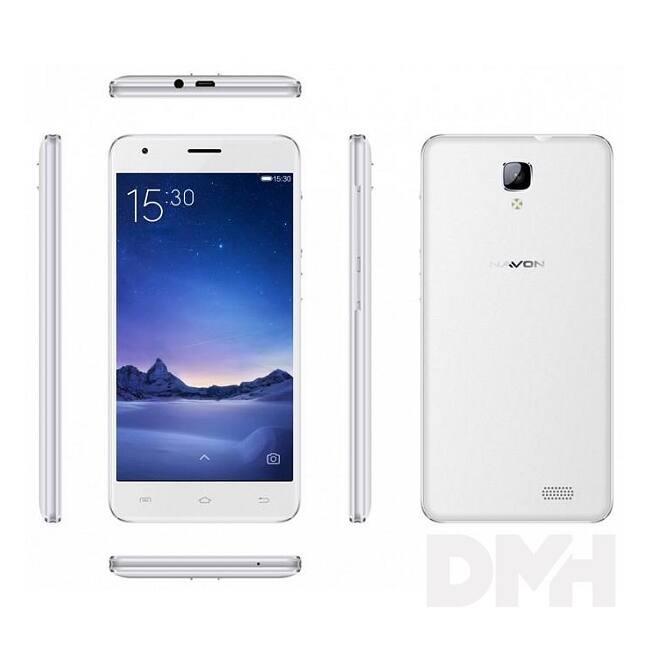 "Navon Supreme Pure 5"" 3G 8GB Dual SIM fehér okostelefon"