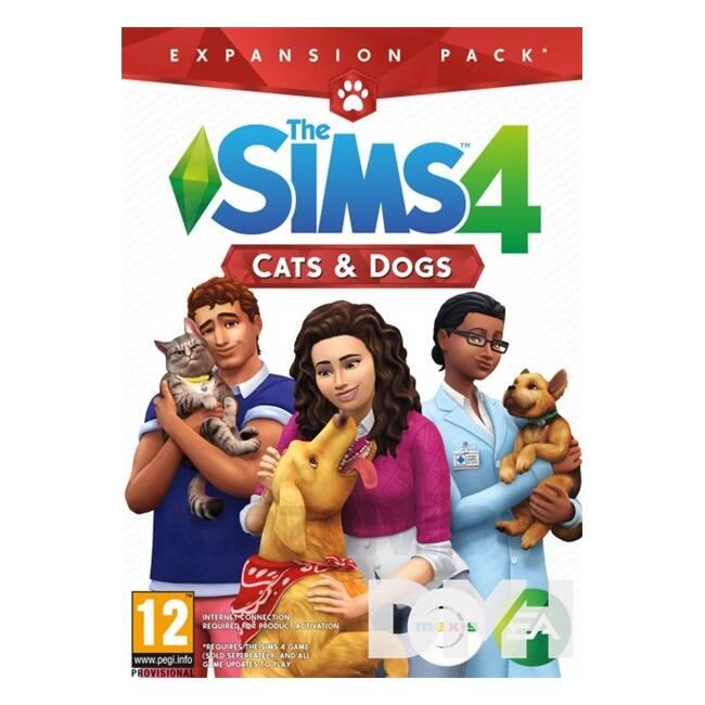 The SIMS 4 Cats & Dogs PC HU játékszoftver