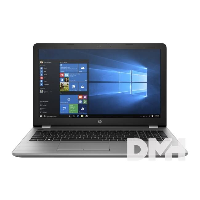 "HP 250 G6 3VK56EA 15,6""/Intel Core i3-7020U/4GB/256GB/Int. VGA/Win10 fekete laptop"