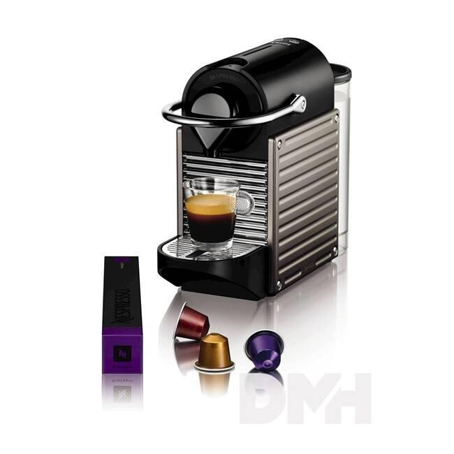 Krups XN3005CP Nespresso Pixie Electric Titan kapszulás kávéfőző
